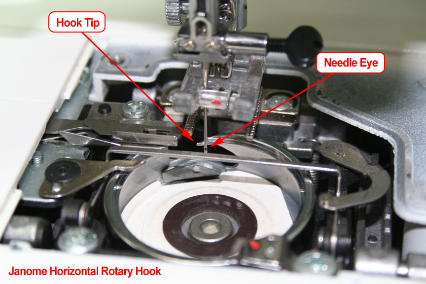 Janome Horizontal Rotary Hook Timing