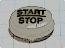 Janome Start Stop Button